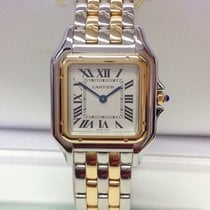 Cartier Panthère Gold/Steel 27mm Silver Roman numerals United Kingdom, Wilmslow