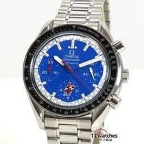 Omega Speedmaster Racing Acero 39mm Azul
