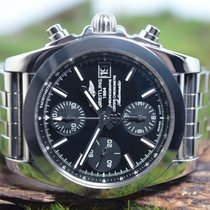 Breitling Chronomat 38 Steel 38mm Black