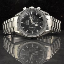 Omega Speedmaster Broad Arrow Steel 42mm Black No numerals