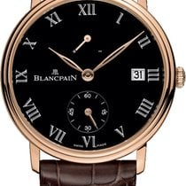 Blancpain 6614-3637-55b Red gold 2020 Villeret 42mm new