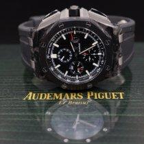 Audemars Piguet Royal Oak Offshore Chronograph Carbone 44mm Noir Sans chiffres