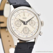 Gallet Steel 38mm Manual winding pre-owned United States of America, California, Beverly Hills