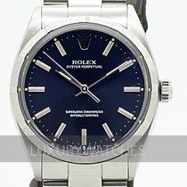 Rolex Oyster Perpetual 34 Stål 34mm Blå Sverige, Stockholm