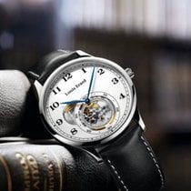 Louis Erard 1931 Acero 40mm Blanco Árabes