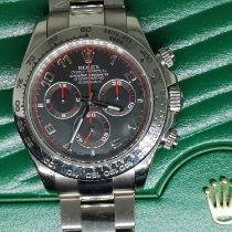 Rolex Daytona White gold 40mm Red Arabic numerals