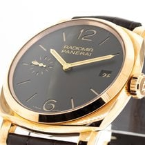 Panerai Rose gold Manual winding Brown Arabic numerals 47mm new Radiomir 1940 3 Days