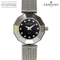 Century pre-owned Quartz 24mm Black