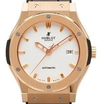 Hublot Red gold Automatic White No numerals 42mm new Classic Fusion 45, 42, 38, 33 mm