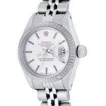 Rolex Lady-Datejust Acél 25mm Ezüst Számjegyek nélkül