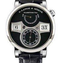 A. Lange & Söhne Lange Zeitwerk White Gold Watch