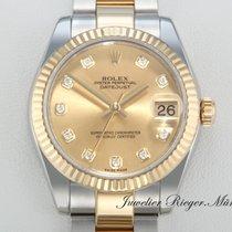 Rolex Datejust 178273 Medium 31mm Stahl Gelbgold 750 Date Just