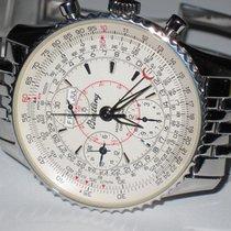 Breitling Montbrillant Datora Steel 43mm White No numerals United States of America, New York, Greenvale
