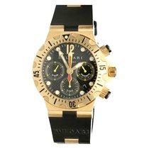 Bulgari Diagono Professional Chronograph 18K Gold