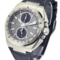 IWC IW378507 Ingenieur Chronograph Racer in Steel - on Black...
