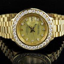 Rolex Ladies 26 MM Rolex President Datejust 18K Yellow Gold...