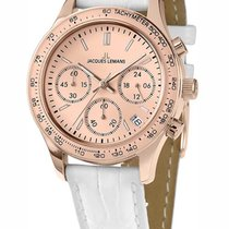 Jacques Lemans 1-1587ZF Rome Multifunktion Damen 37mm 10ATM
