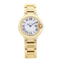 Cartier Ballon Bleu W69001Z2 18K Yellow Gold Ladies Watch (17112)