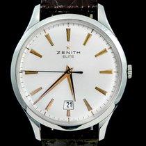 Zenith Captain Central Second Acier 40mm Champagne Sans chiffres