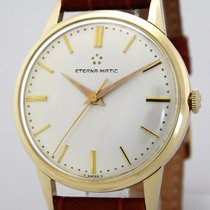 Eterna Matic Massivgold 14K/585 Herrenuhr