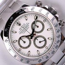 Rolex Daytona Cosmograph 116520 Stainless Steel 40mm Watch-Whi...