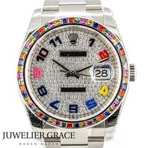 Rolex Datejust Haribo Diamonds Aftermarket Box/Papers 2012
