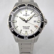 Perrelet 42mm Automatic 2014 pre-owned Seacraft White