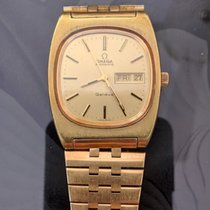 Omega Yellow gold Automatic Gold No numerals 35mm pre-owned Genève