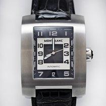 Montblanc Profile Stahl 33mm Schwarz Arabisch