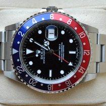 Rolex [SERVICED+24 MON.+MINT] GMT Master II - K -PEPSI- 2002