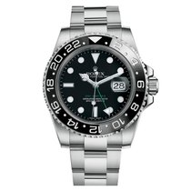 Rolex GMT-Master II Stainless Steel Black Dial 116710LN