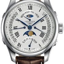 Longines Master Collection Steel 41mm Silver Roman numerals