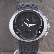 Franc Vila Chronograph 47mm Automatic pre-owned Black