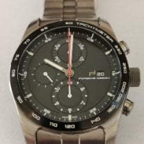 Porsche Design Chronotimer Titanium 42mm Black No numerals