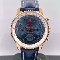 Breitling Montbrillant 01 Rose gold 40mm Blue United States of America, New York, New York