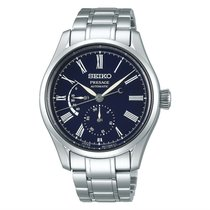 Seiko Presage Steel 40.5mm Blue