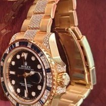Rolex 116758SA Yellow gold GMT-Master II 40mm pre-owned