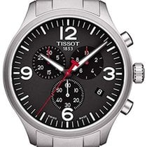 Tissot T-Sport Stål 44mm Sort Arabertal