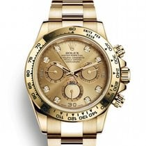 Rolex Daytona Yellow gold 40mm Green No numerals United States of America, New Jersey, Woodbridge