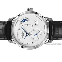Glashütte Original PanoMaticLunar Steel 40mm Black No numerals United States of America, Florida, Aventura