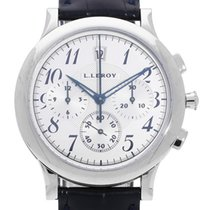 L.Leroy White gold 37mm Automatic pre-owned