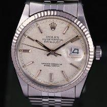 Rolex Datejust Acél 36mm Ezüst Számjegyek nélkül