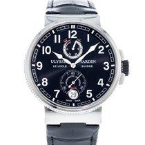 Ulysse Nardin Marine Chronometer Manufacture Сталь 43mm Чёрный