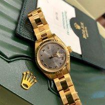 Rolex Lady-Datejust Жёлтое золото 26mm Cерый Россия, Санкт-Петербург