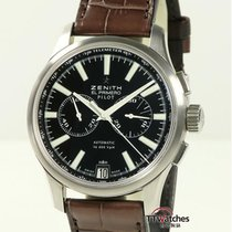 Zenith Steel 42mm Automatic 03.2117.4002/23 pre-owned