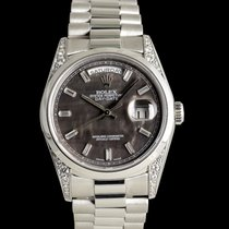 Rolex Day-Date Platinum 36mm Mother of pearl