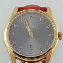 Hamilton Jazzmaster Thinline pre-owned 42mm Leather