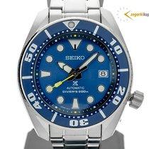 Seiko Prospex Acier 45,00mm Bleu Sans chiffres