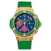 Hublot Big Bang Pop Art Yellow gold 41mm Blue