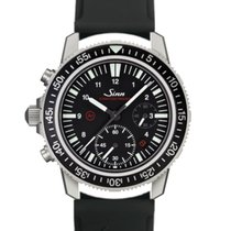 Sinn EZM 13 Steel 41mm Black Arabic numerals